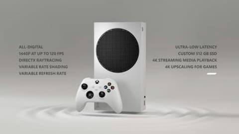 Xbox Series S シリーズ最小ゲーム機!1,440p/120fps対応