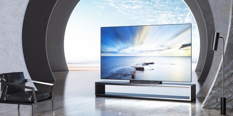 Xiaomi、65インチ有機ELテレビ「Mi TV Master」を約20万円で発売!メーカー初のOLEDテレビ!