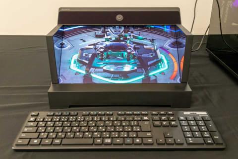 SONY 裸眼3D「空間再現ディスプレイ」 Spatial Reality Display ELF-SR1を10月31日に約50万円で発売!