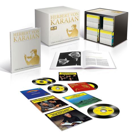 カラヤンの356枚組ボックスCDセット!1人のアーティストとしては史上最大!