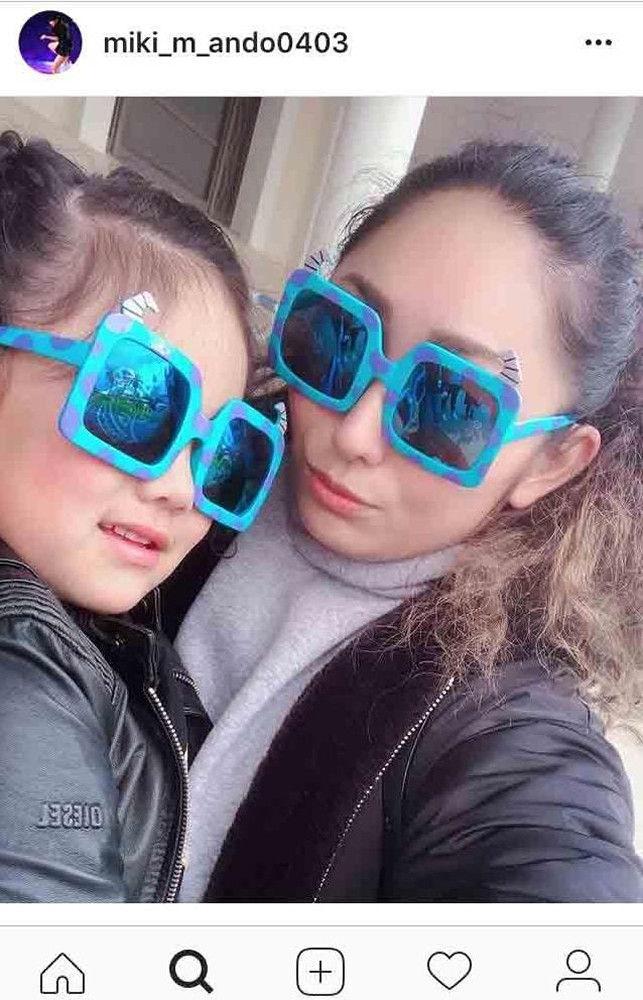【フィギュア】安藤美姫、娘との2ショット披露し「口元そっくり」「ママに似てきた」と反響