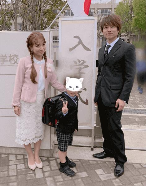 【芸能】辻希美、次男の入学式を報告も「髮型に違和感」「太陽の靴が汚い」の声