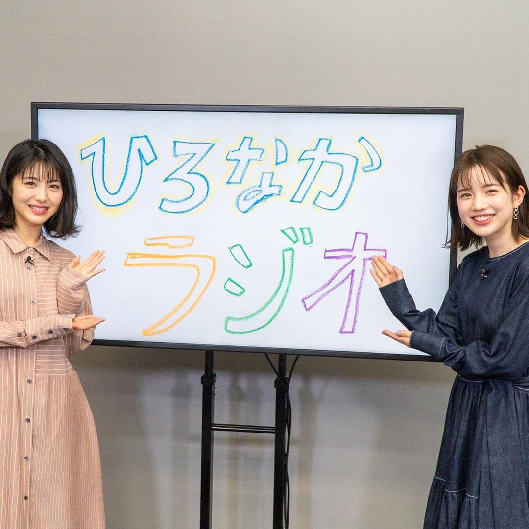 【画像】弘中綾香アナ(28)、浜辺美波(20)を公開処刑してしまう