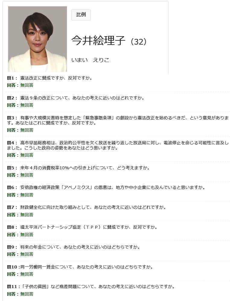 今井絵理子が防災担当大臣になりそうな件wwwwww