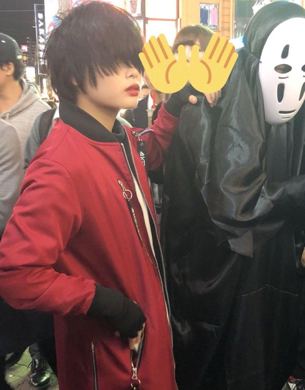 【悲報】渋谷ハロウィンに欅坂のコスプレ集団が出没