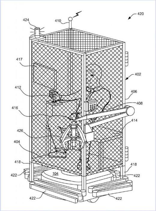 【衝撃】Amazonさん、鉄のケージの中に従業員を閉じ込め働かせるという特許を取得していた