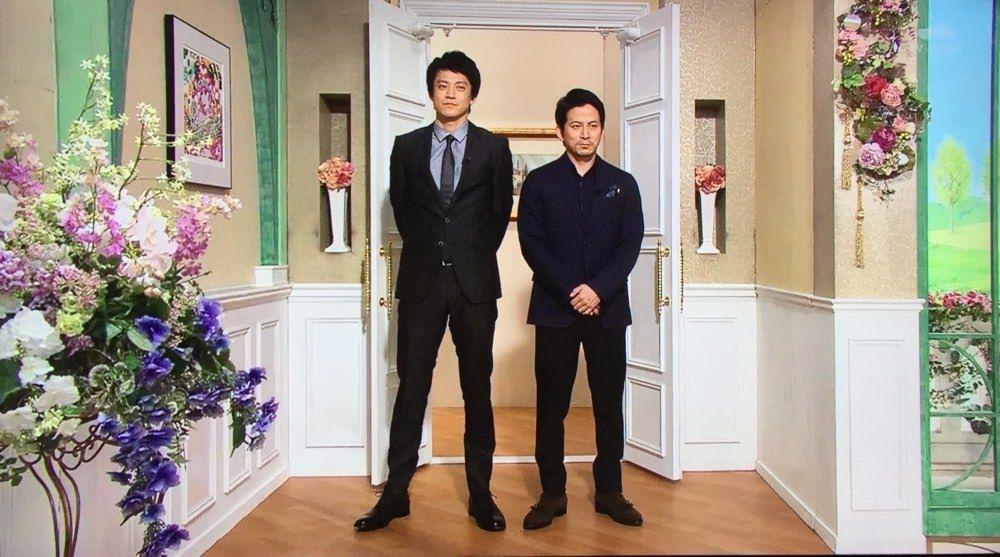 【画像】小栗旬(184cm)と岡田准一(165cm)が並んだ結果・・・