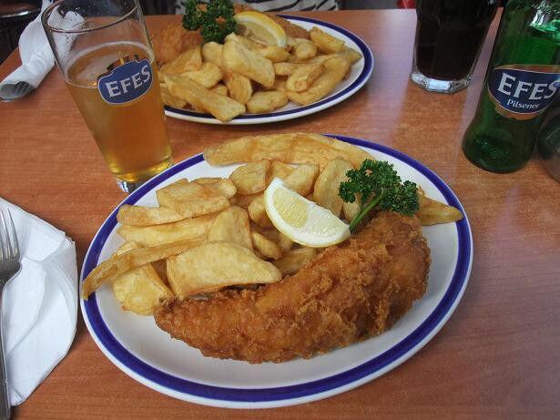 【画像】フィッシュ&チップスとかいうクッソ美味そうな料理wwww