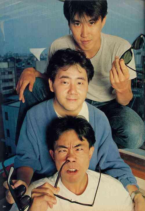 1985年の秋元康(27歳)ととんねるず(23歳)をご覧ください