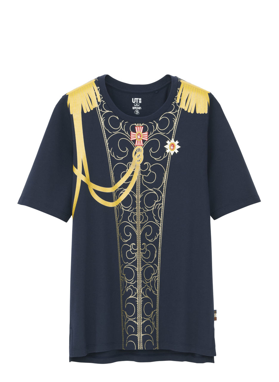 【悲報】ユニクロ「ベルばら」Tシャツが爆誕