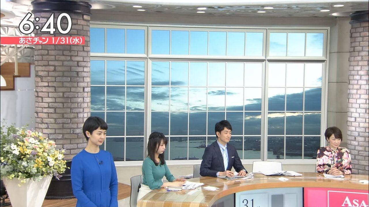 【画像】TBS宇垣美里アナ、朝っぱらからマシュマロ乳房でお茶の間男子をシコらせにくる