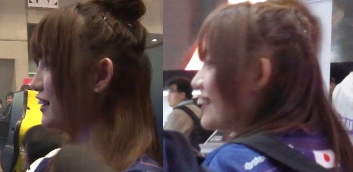 【悲報】日本人初の女性プロゲーマー、やってもいない鼻の整形疑惑をかけられる