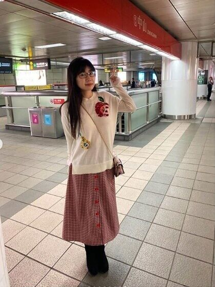 【芸能】福原愛、初の台湾地下鉄で撮影した私服姿に賛否の声「可愛い」「ダサい」