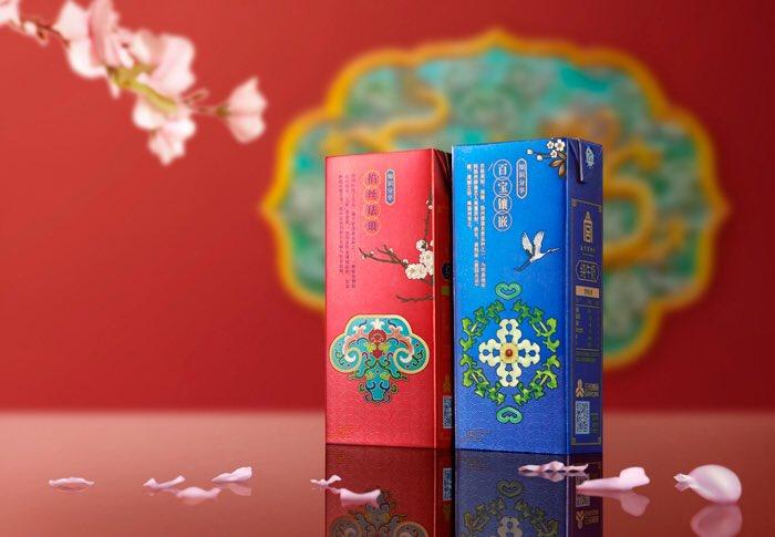 【朗報】中国の紙パック牛乳のデザイン、超かっこいい