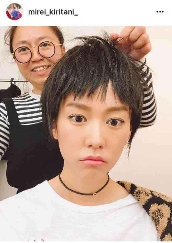 【画像】桐谷美玲さん、髪をバッサリ切ってボーイッシュ系になる