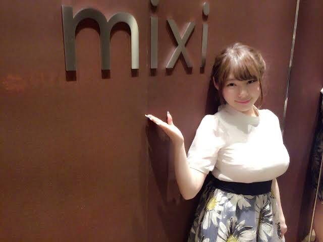 【画像】mixiの広報部のお姉さん、自己主張が強過ぎるwwwwwwwwwwwwwwwwwwwwwwwwwwwwww