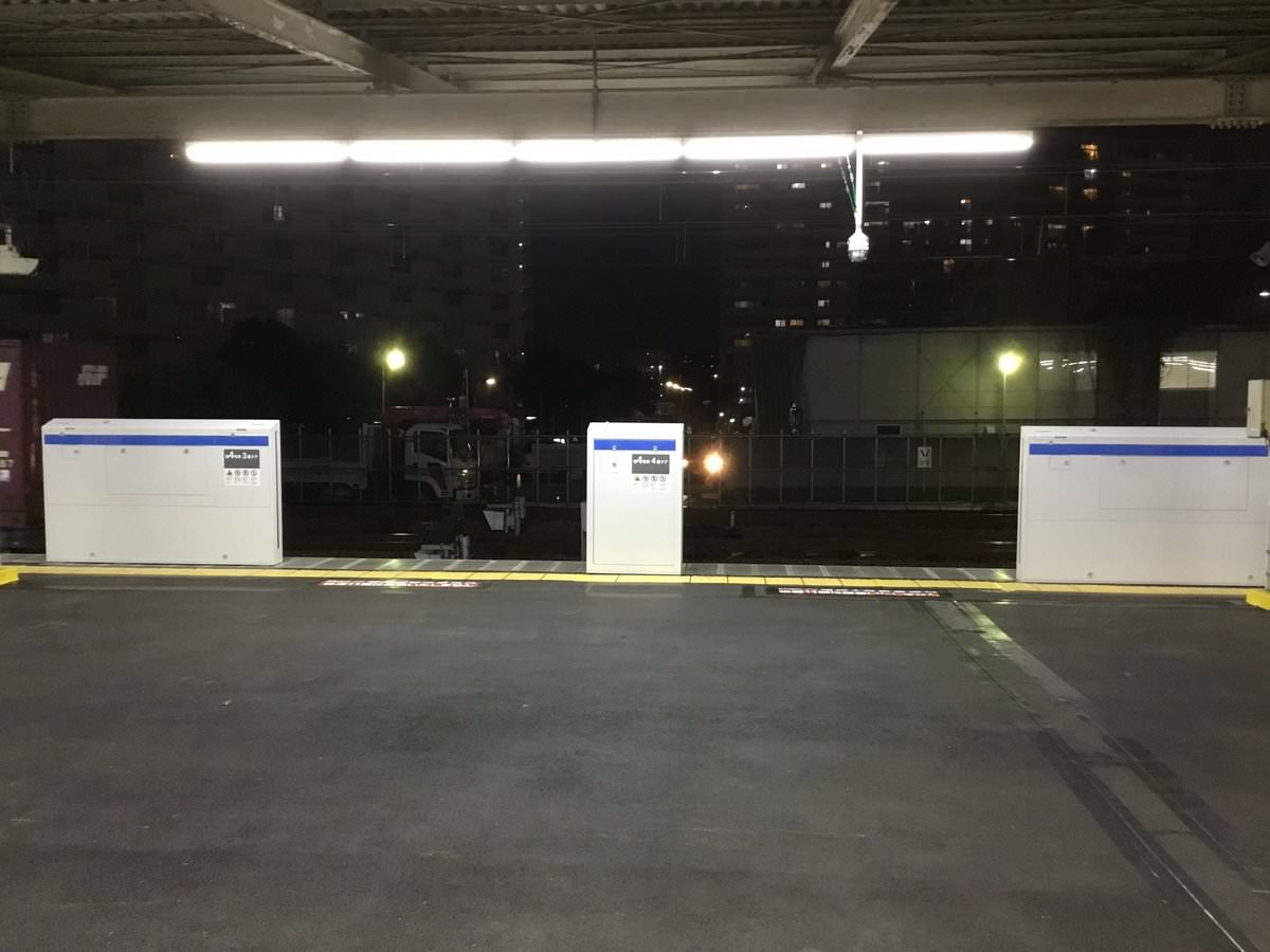 新小岩駅ホームドア設置完了、ベリーロールの練習が必須か