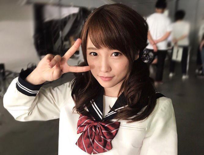 【きゃわ♪】川栄李奈、セーラー服とツインテール姿公開でファン悶絶