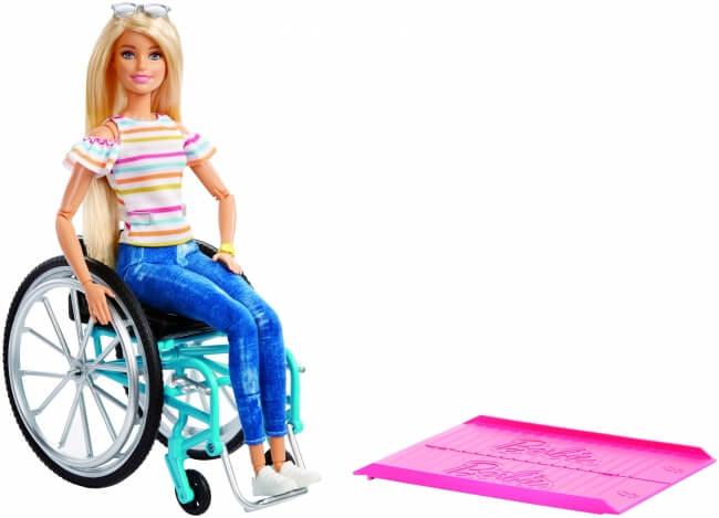 【彡⌒ミも】車椅子に乗ったバービー発売へ「多様な障害を反映したバービーを販売していく」