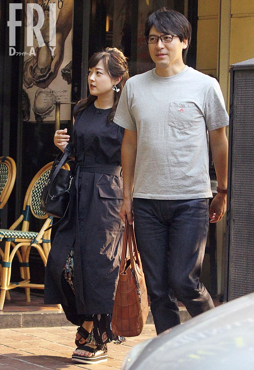 【女子アナ】日テレ水卜麻美&桝太一… 銀座で恋人同士のようなオフショット
