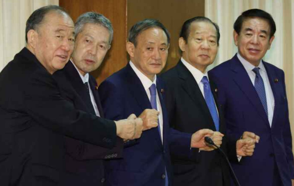 ツイッター民「日本とフィンランドの内閣の比較をご覧くださいwwwww」