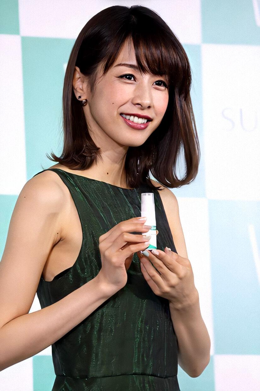 【芸能】加藤綾子、色っぽい唇でファンを圧倒 「びっくりする美しさ」