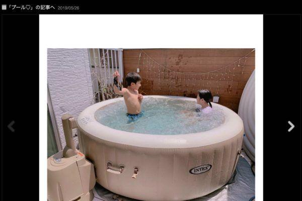 【芸能】辻希美、自宅プールの豪華さに驚きの声 「次元をはるかに超えてた」