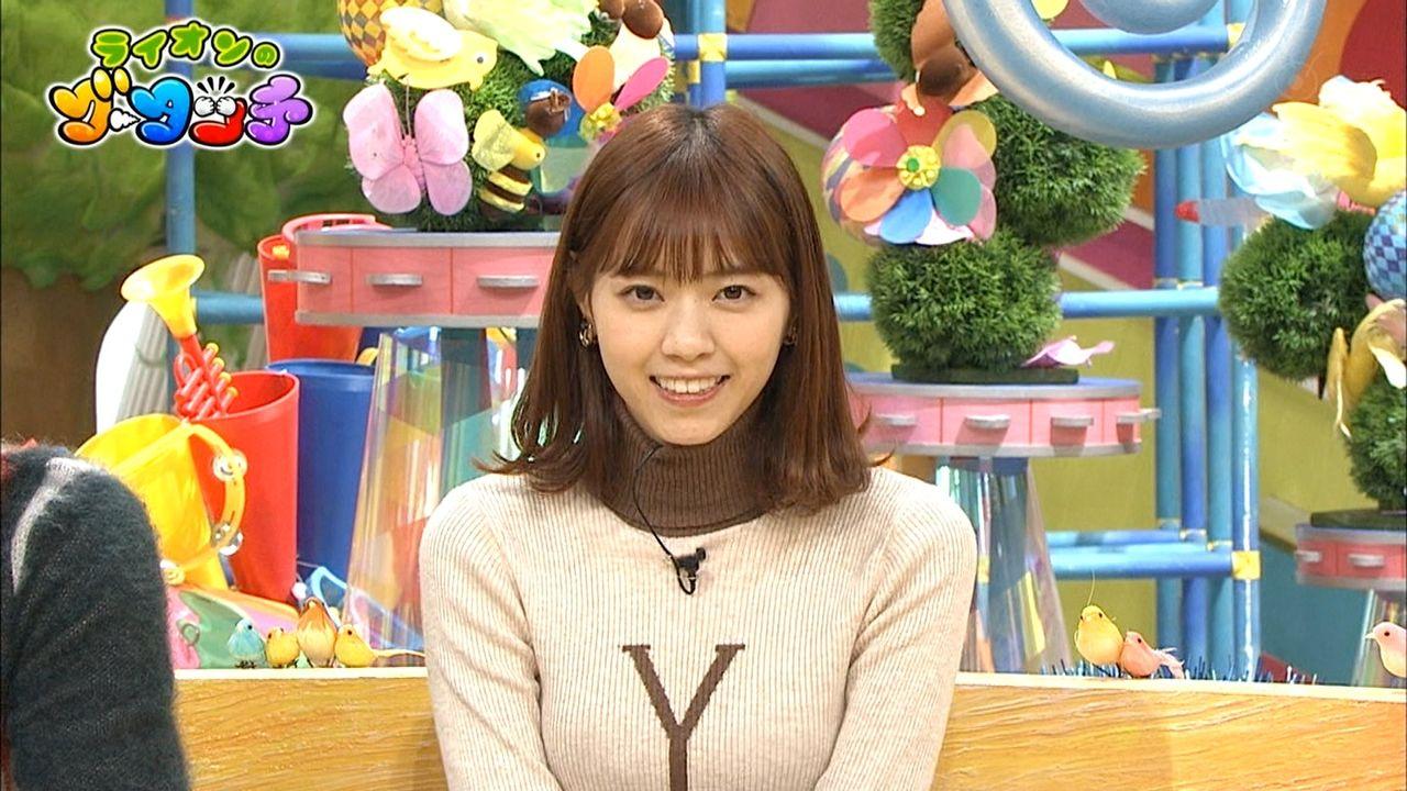 【 Y 】西野七瀬さん、巨乳に見せるための努力をする