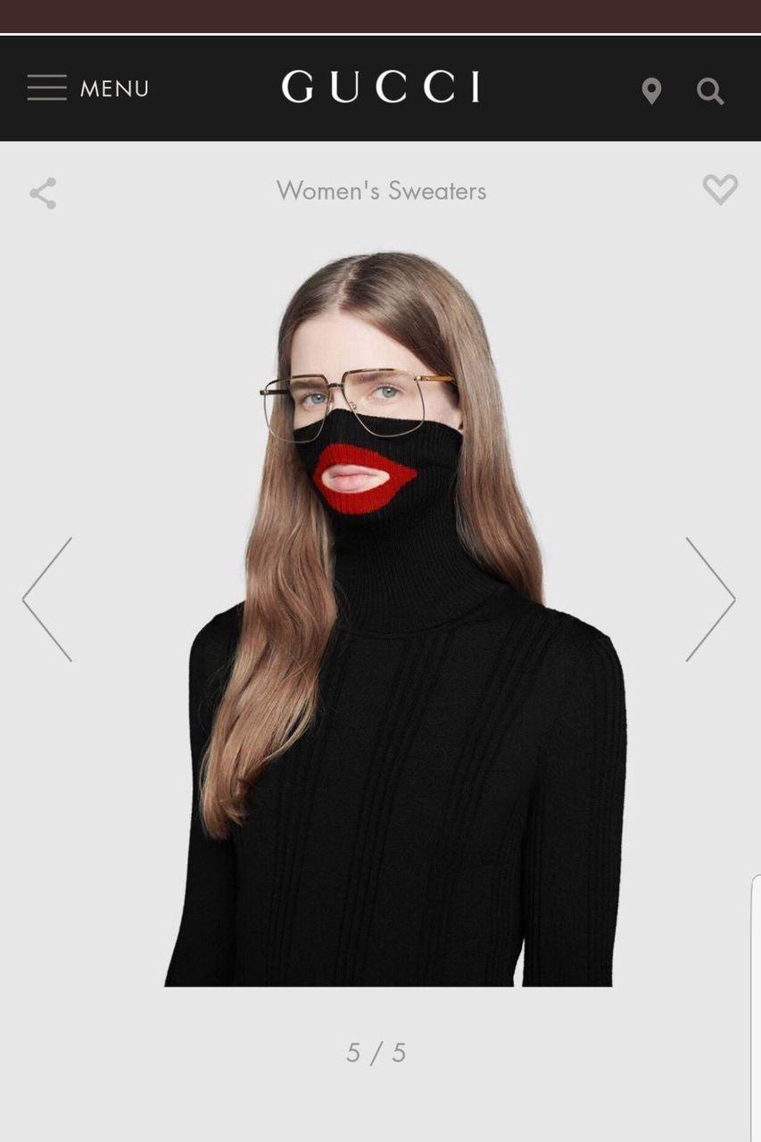 【悲報】グッチ「新作の黒いセーターです」→黒人差別だと大炎上、発売中止に