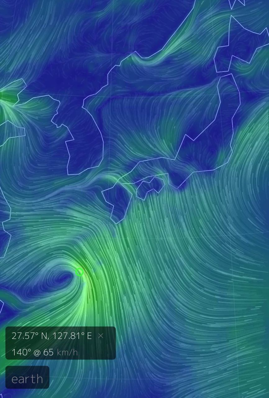 【悲報】沖縄に台風みたいな低気圧おるのにまったく報道されてんで草