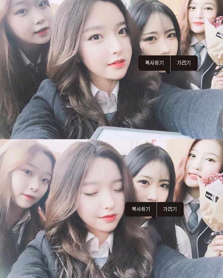 韓国の高校生が卒業式の日に写真を撮った結果wwwwww