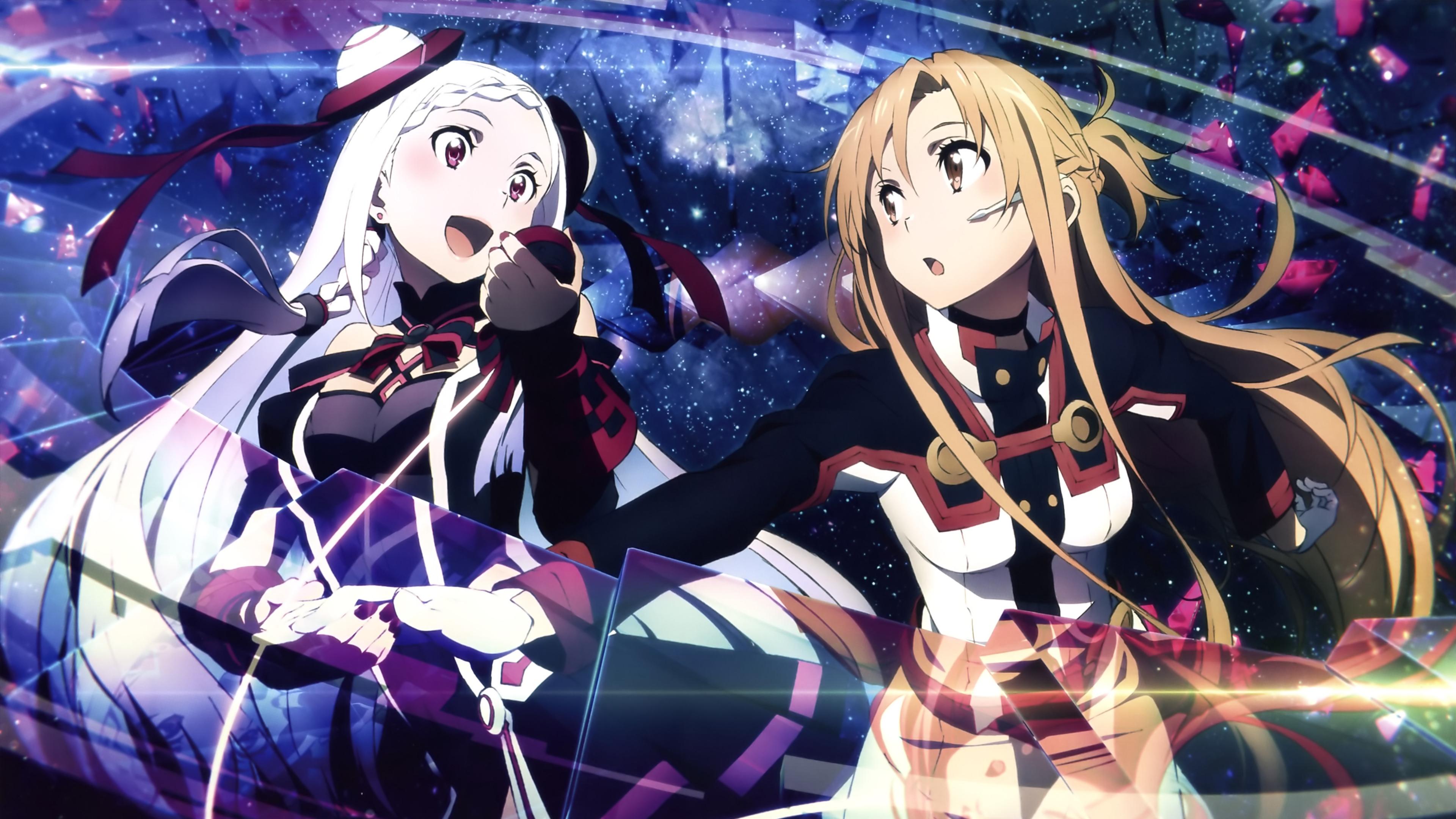 劇場版 SAO《歌姫》ユナ&アスナ【4K壁紙】超高画質(3840×2160