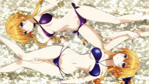 八舞姉妹、水着画像