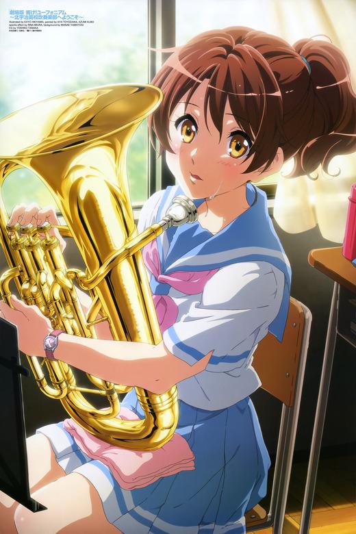 【劇場版】響け!ユーフォニアム~北宇治高校吹奏楽部へようこそ~、ピンナップ画像