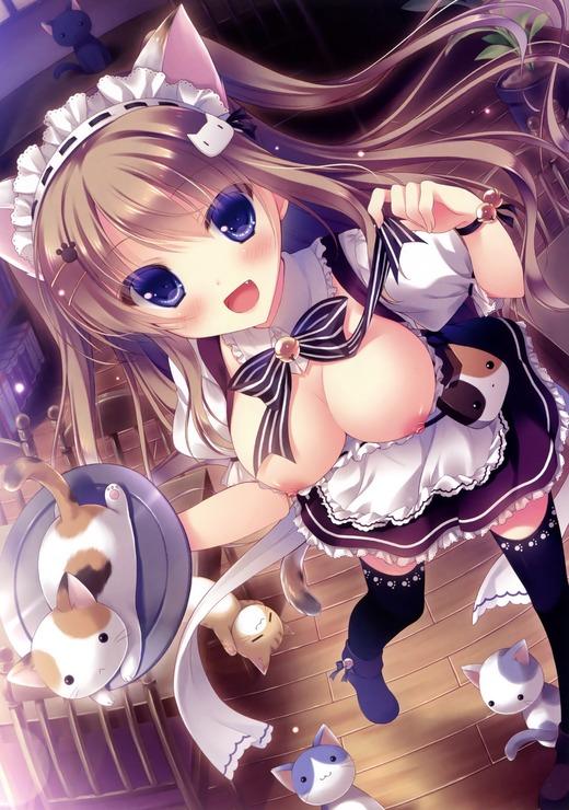にゃんカフェマキアート(猫杜美華)おっぱい、エロ画像