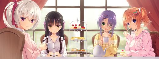 喫茶ステラと死神の蝶【ティータイム】画像(イラスト:むりこぶ)