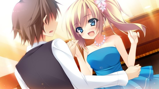 祝福の鐘の音は、桜色の風と共に(東雲 うらら)CG・画像