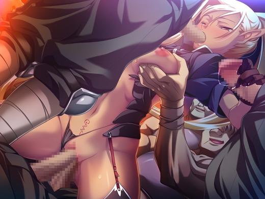 黒獣・改 〜気高き聖女は白濁に染まる〜(HCG)エロ画像