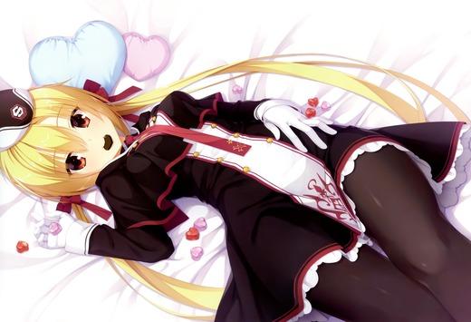 RIDDLE JOKER(在原七海)バレンタイン、寝そべりチョコ、画像
