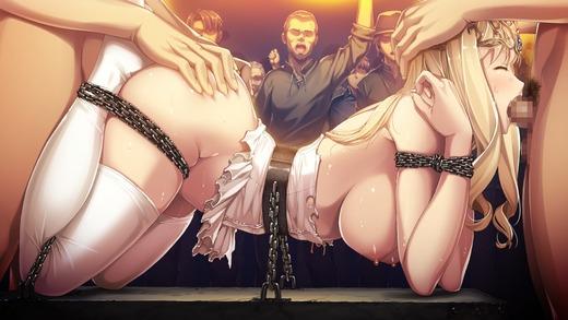 鉄と裸II 〜敗北の女帝〜(HCG)エロ画像