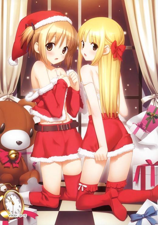 よつのは(猫宮のの)さくらさくら(吉岡なのは)クリスマス、サンタ服、可愛い画像