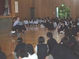 千葉の高校での講演会でしゃべりまくる!