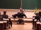 山口大医学部学祭で講演