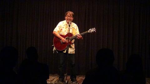 グレート義太夫さんのギター漫談。抜群な安定感はさすが!