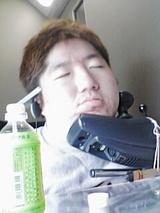寝顔を撮られた