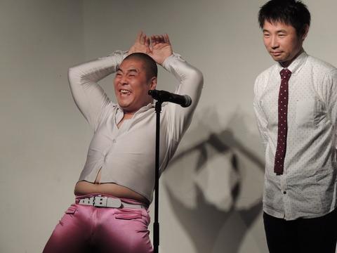 松本ハウスのお二人の漫才はC-1でも最高!