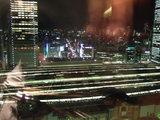 新丸ビルのオフィスエリアの夜景