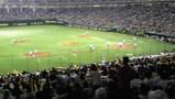 ドームで野球を観るのは20年振りぐらいか?