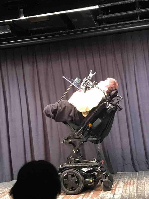 新車いすの「ひとりバックドロップ」!!
