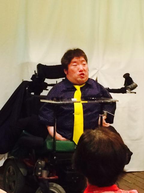 漫談。ある人から「日本一しゃべる障がい者」といわれた(笑)